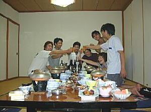 ツーレポ 初日(七浦荘宴会第1部)編 8/14(WED)に関する画像