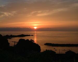夕日が与える情緒